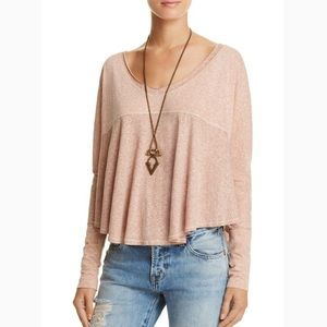 Free People Long Sleeve 'Cloud Nine Tee'